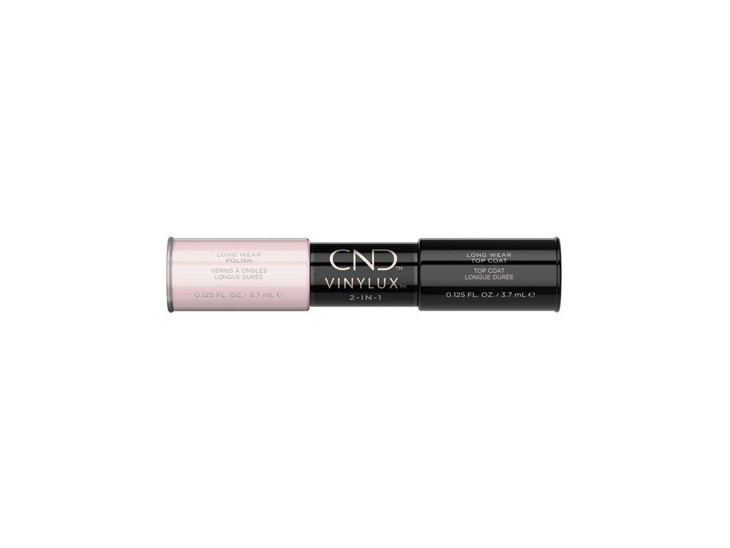 CND VINYLUX™  2-IN-1 NEGLIGEE (#132) + WEEKLY TOP COAT, 2x 0.125oz (3,7 ml)