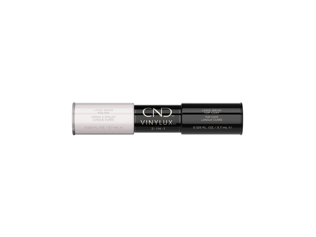 CND VINYLUX™  2-IN-1 CREAM PUFF (#108) + WEEKLY TOP COAT, 2x 0.125oz (3,7 ml)