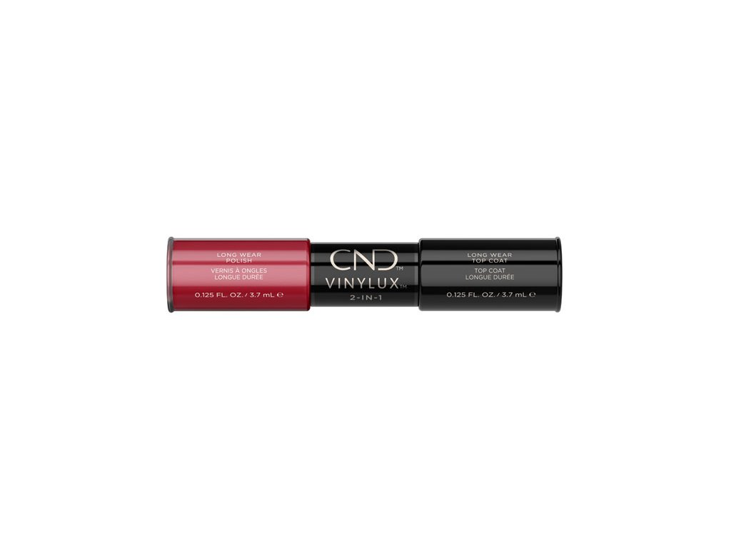 CND VINYLUX™  2-IN-1 WILDFIRE (#158) + WEEKLY TOP COAT, 2x 0.125oz (3,7 ml)
