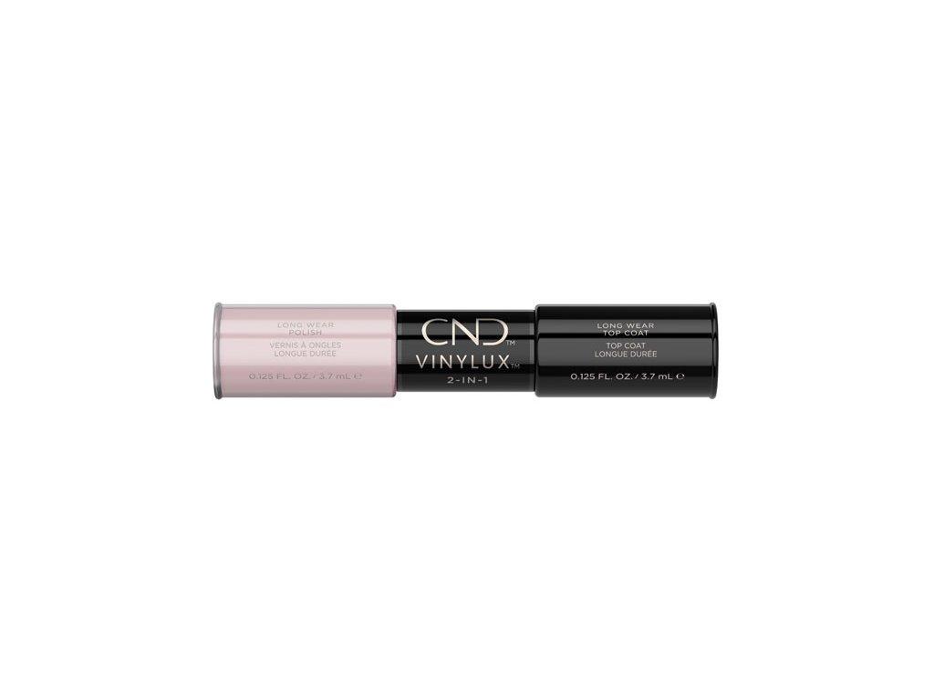 CND VINYLUX™  2-IN-1 FIELD FOX (#185) + WEEKLY TOP COAT, 2x 0.125oz (3,7 ml)