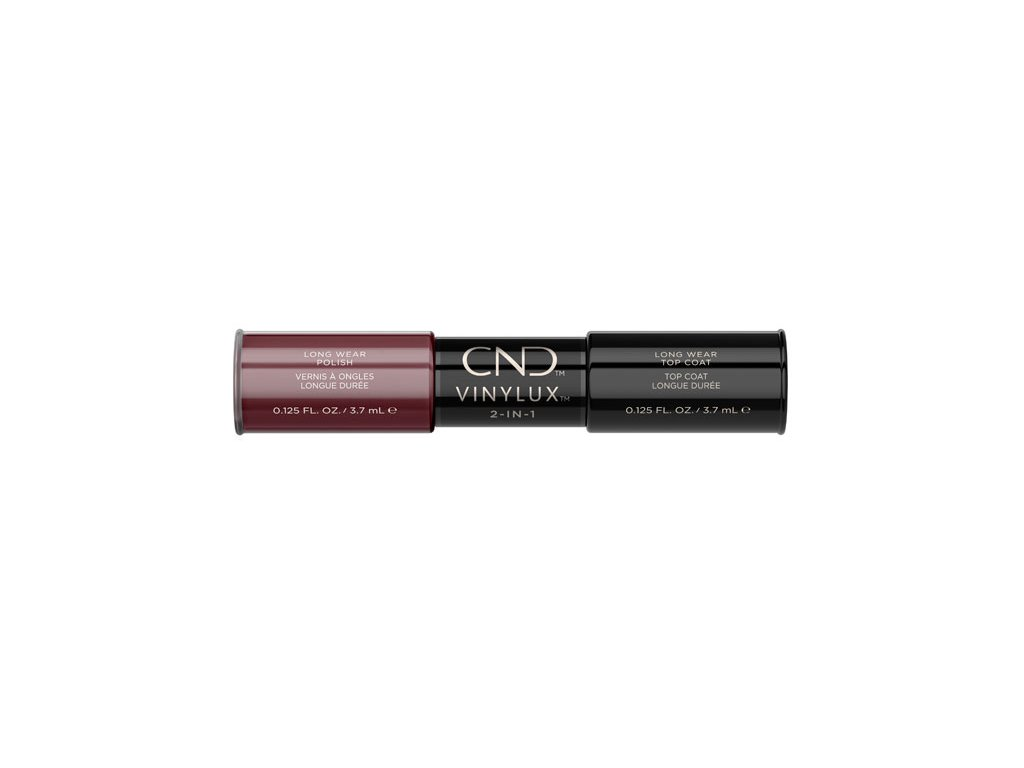 CND VINYLUX™  2-IN-1 DECADENCE (#111) + WEEKLY TOP COAT, 2x 0.125oz (3,7 ml)