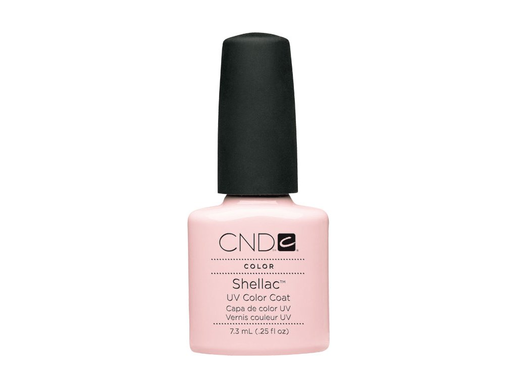 CND SHELLAC™ - UV COLOR  - CLEARLY PINK 0.25oz (7,3ml)