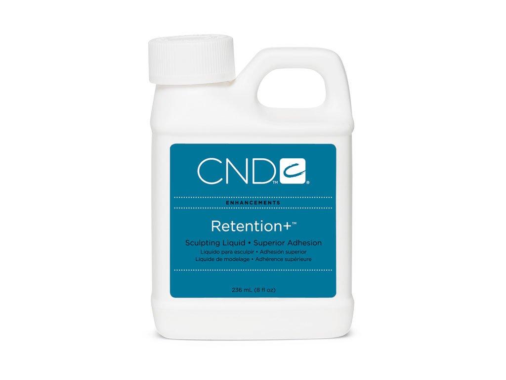 CND Retention+ Liquid Dung dịch đắp móng 8oz (236ml), độ bám dính cao