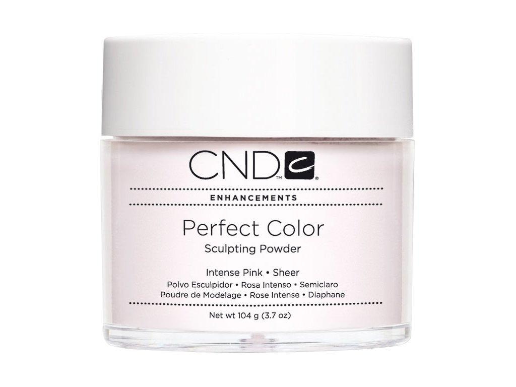 CND PERFECT COLOR, Bột đắp móng - INTENSE PINK SHEER 3.7oz (104g), mầu hồng