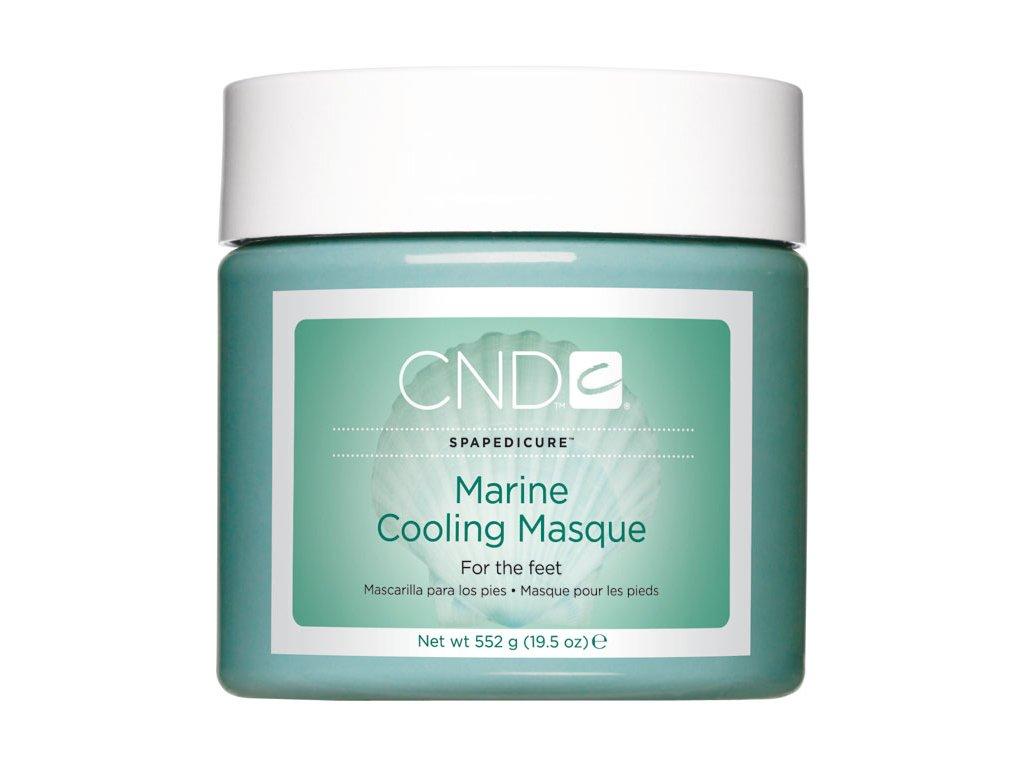 CND D - SpaPedicure Marine Cooling Masque 19.5oz (552g), Mặt nạ chất khoáng, làm mát vá dướng ẩm da chân