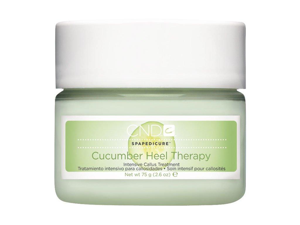 CND ĐÃ NGỪNG SẢN XUẤT Cucumber Heel Therapy 2.6oz (74g), Kem dưỡng ẩm sâu, khô và nứt nẻ