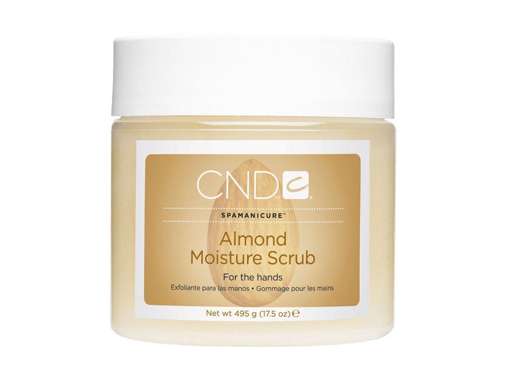 CND SpaManicure Almond Moisture Scrub, 17.5oz (495g), peeling làm mịn và nuôi dưỡng