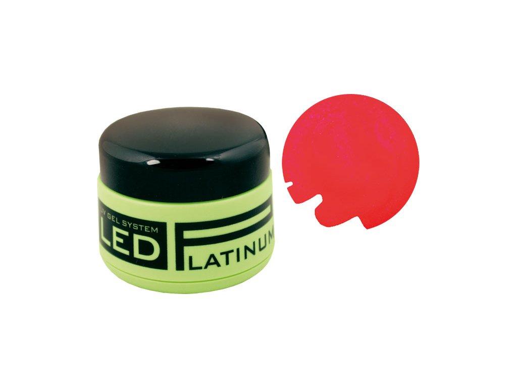 Platinum PLATINUM LED - gel màu - RED, 9g (25)