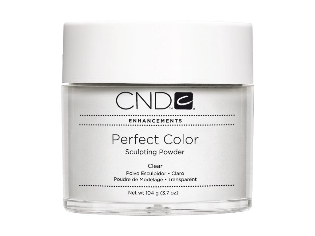 CND PERFECT COLOR ,Bột tạo dáng - CLEAR -, 3.7oz (104g), mầu trong