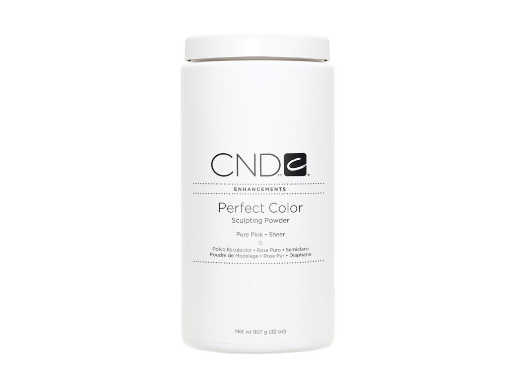 CND PERFECT COLOR, Bột đắp móng  - PURE PINK SHEER -  mầu hồng trong , 32oz (907g)