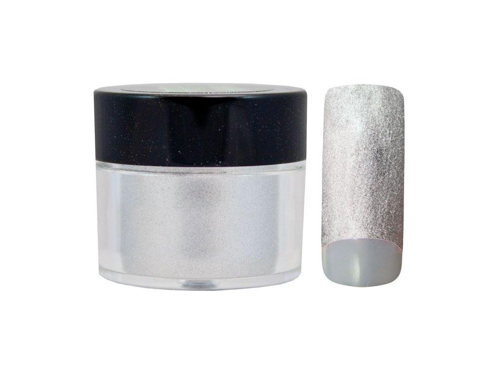 Platinum COLOR EFFECT PIGMENT - bột màu pha với gel - FROZEN SILVER - 7ml (18)
