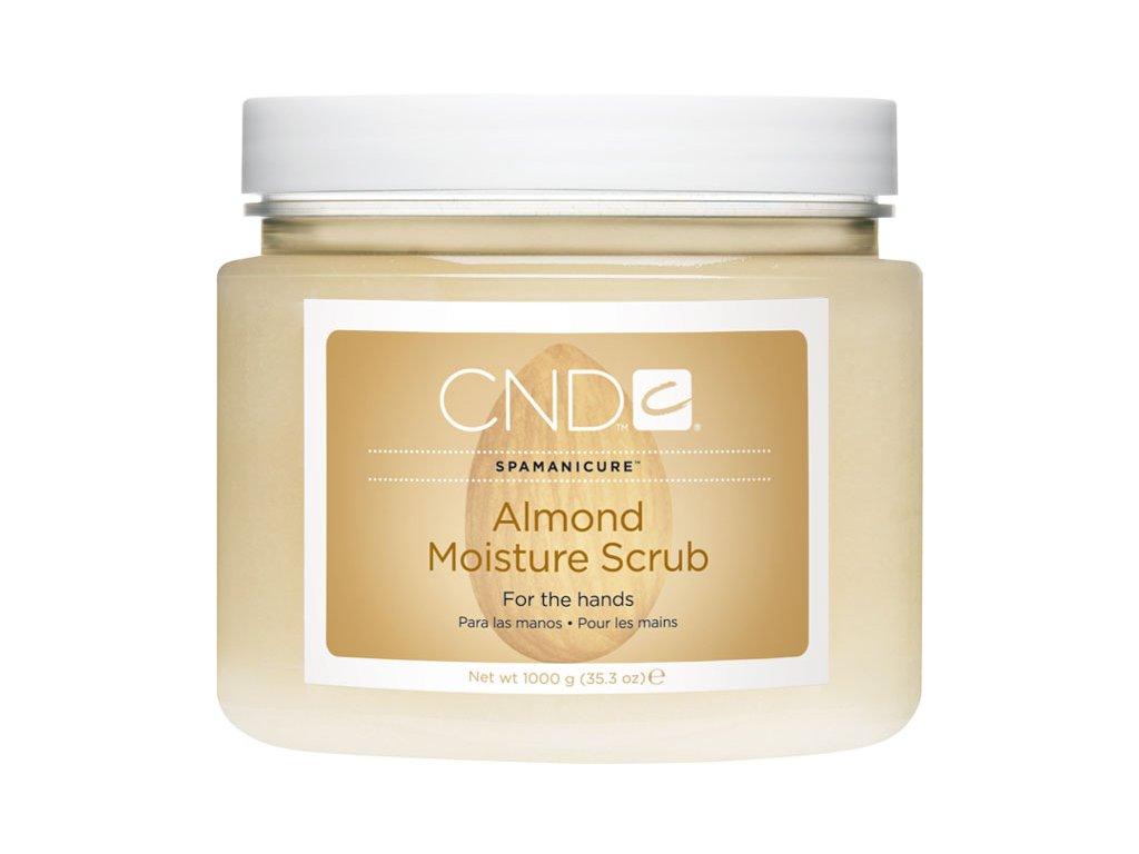 CND Spa Manicure ALMOND MOISTURE SCRUB, peeling làm mịn và nuôi dưỡng, 35.3oz (1000g)