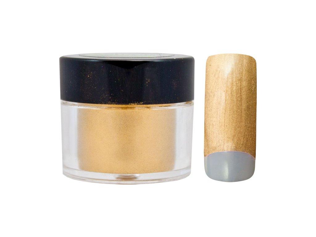 Platinum COLOR EFFECT PIGMENT - bột màu pha với gel - FROZEN GOLD - 7ml (19)