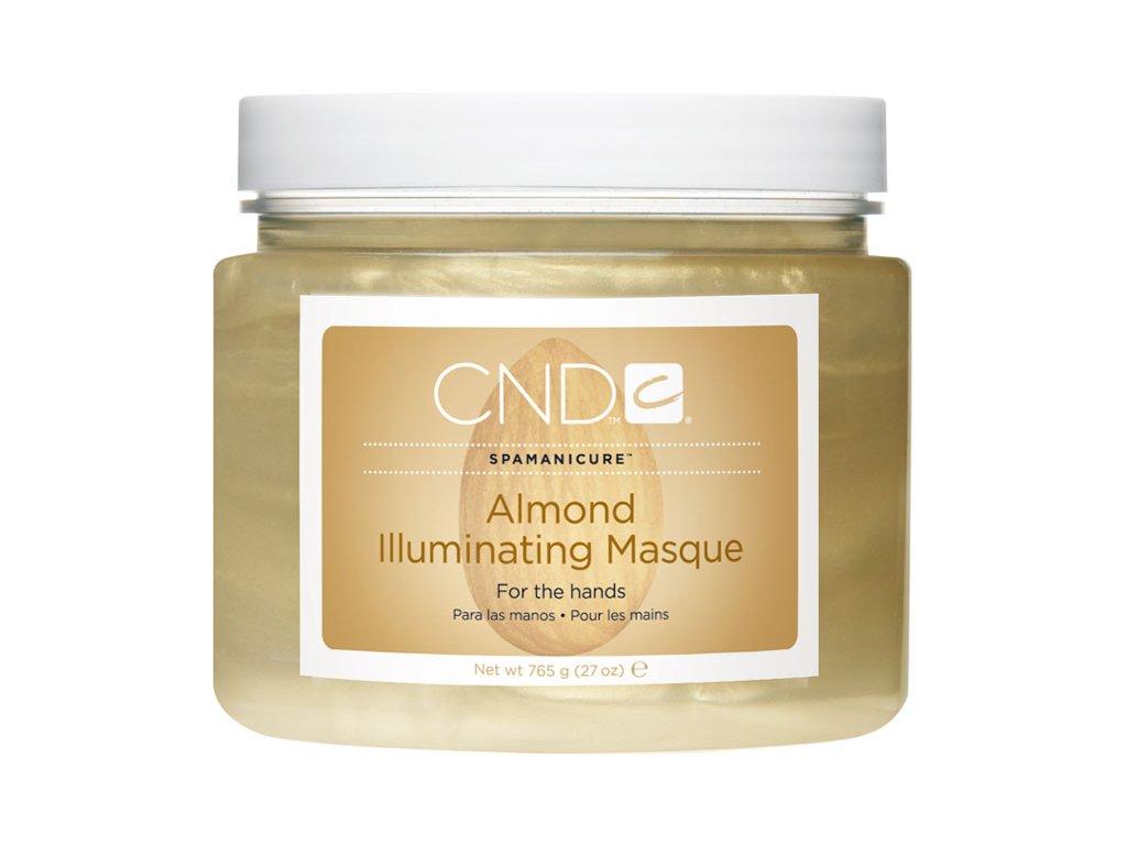 CND SpaManicure ALMOND ILLUMINATING MASQUE, mặt nạ dinh dưỡng và dưỡng ẩm óng ánht, 27oz (765g)