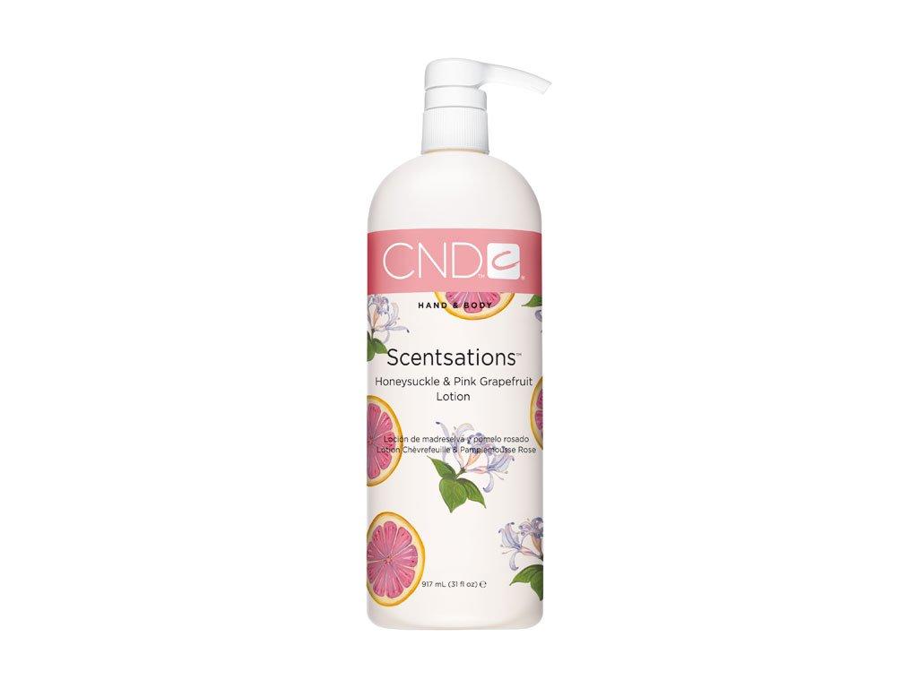 CND SCENTSATIONS™ HONEYSUCKLE - PINK GRAPEFRUIT sữa bôi da kim ngân và bưởi đào , 31oz (917ml)
