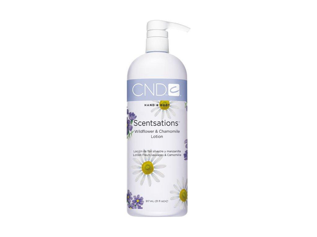 CND SCENTSATIONS™ WILDFLOWER - CHAMOMILE   sữa bôi da, 31oz (917ml)