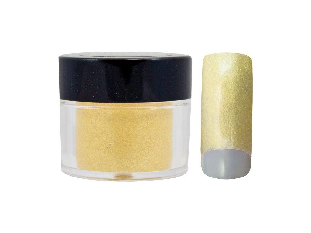 Platinum COLOR EFFECT PIGMENT - bột màu pha với gel - SHINY YELOW GOLD - 7ml (21)