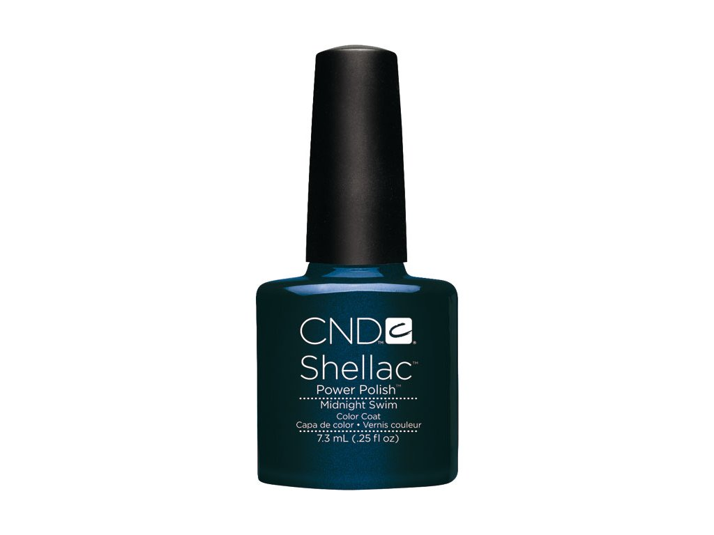 CND SHELLAC™  - UV COLOR  - MIDNIGHT SWIM 0.25oz (7,3ml)