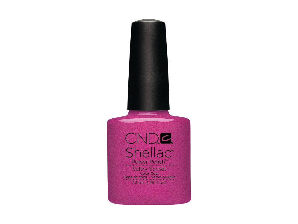 CND SHELLAC™  - UV COLOR  - SULTRY SUNSET  0.25oz (7,3ml)