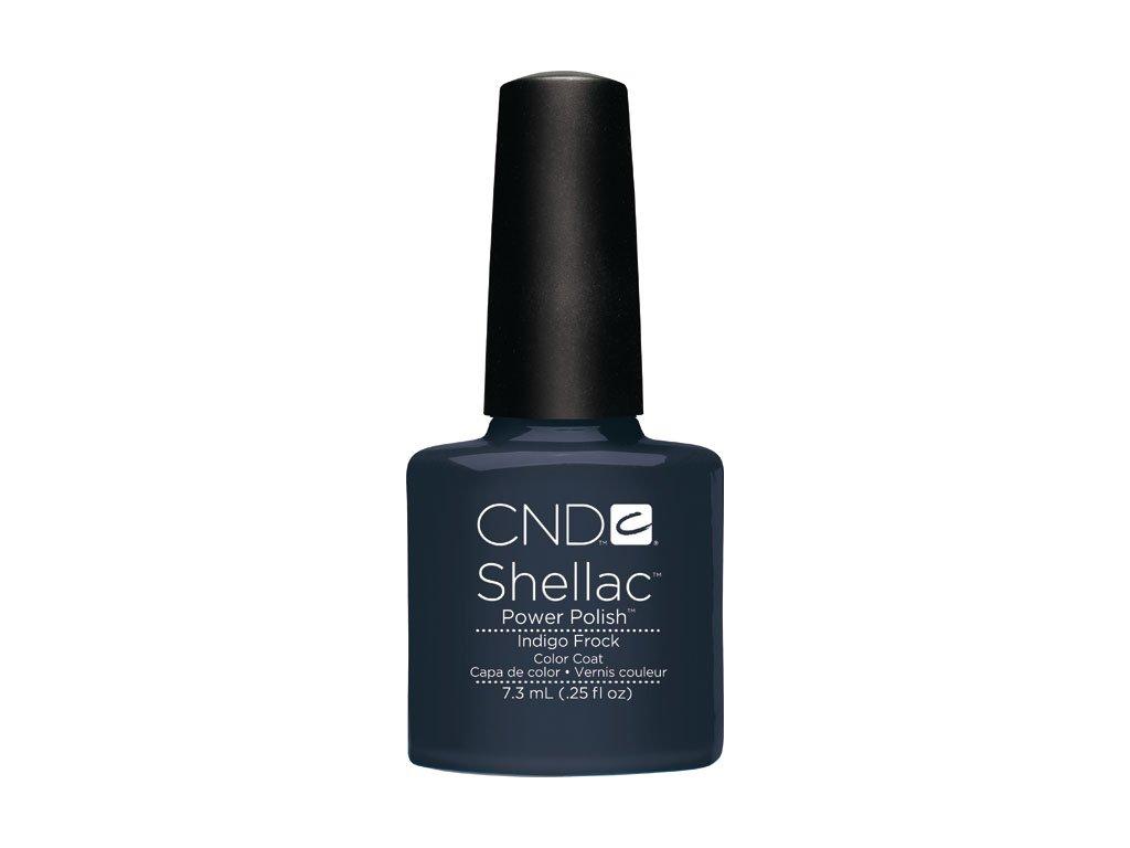 CND SHELLAC™  - UV COLOR  - INDIGO FROCK  0.25oz (7,3ml)