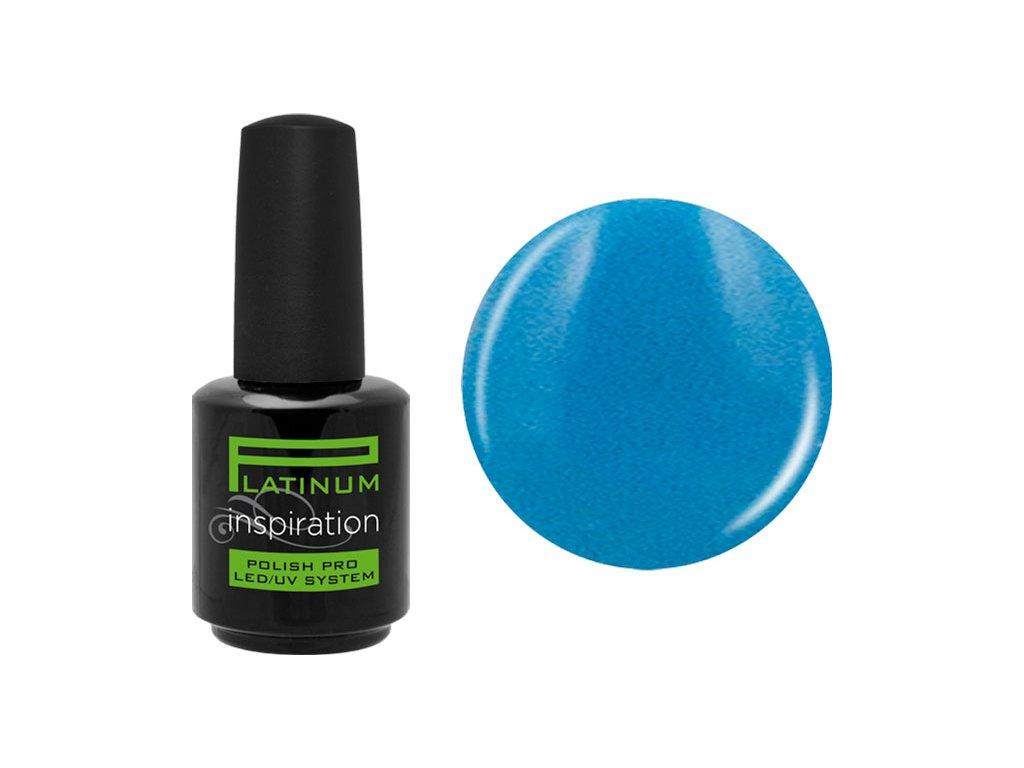 Platinum NEW ! POLISH PRO INSPIRATION - LED/UV sơn gel - 23 CYAN, 15ml