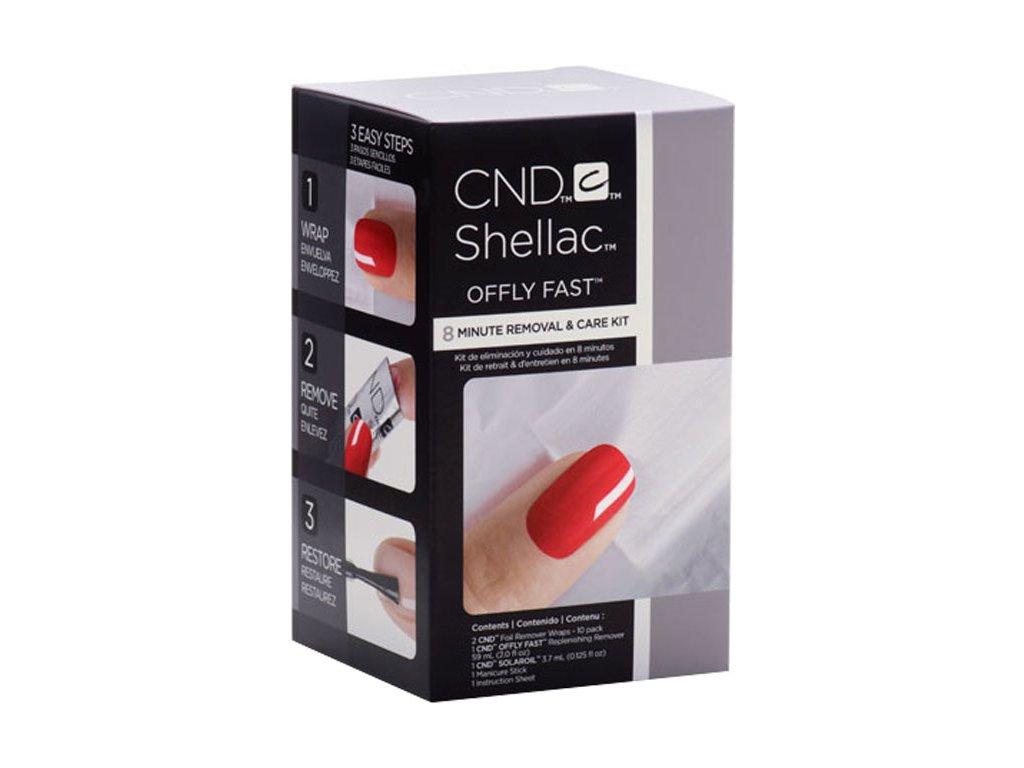 CND CND™ OFFLY FAST™ 8min REMOVAL AND CARE KIT - ngỡ bỏ nhẹ nhàng và nhanh chóng CND™ SHELLAC™