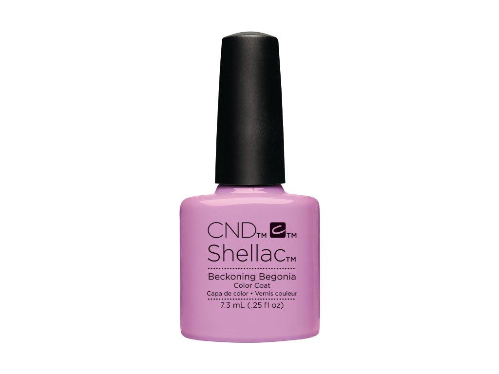 CND SHELLAC™  - UV COLOR  - BECKONING BEGONIA 0.25oz (7,3ml)