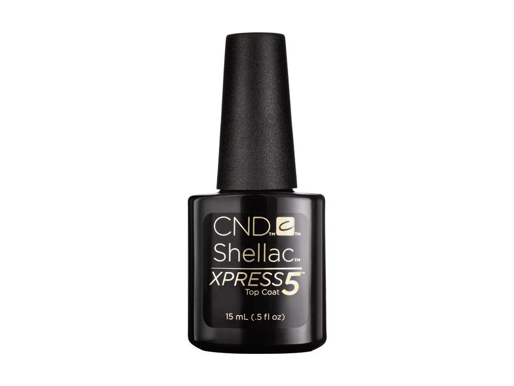 CND CND™ SHELLAC™ -  XPRESS5™ TOP COAT - sơn phủ 0.5oz (15ml) - gỡ bỏ trong 5 phút