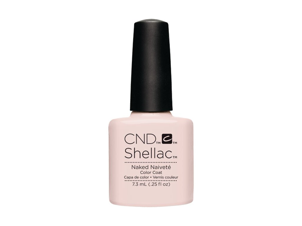 CND SHELLAC™  - UV COLOR  - NAKED NAIVETE 0.25oz (7,3ml)