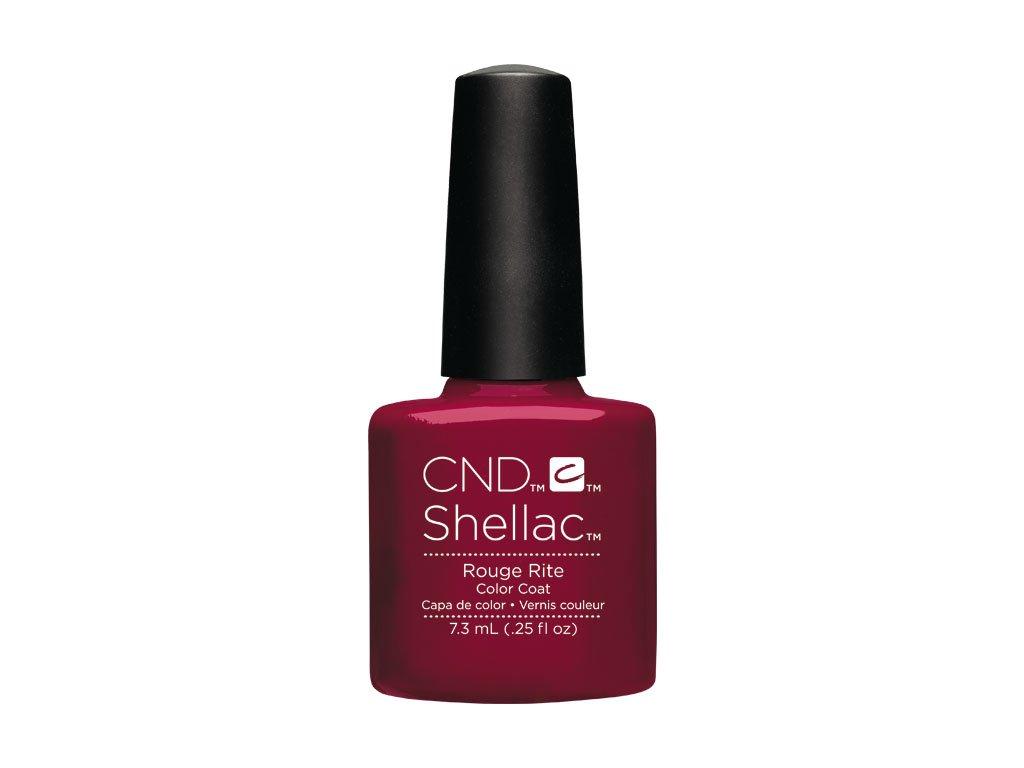 CND SHELLAC™  - UV COLOR  - ROUGE RITE 0.25oz (7,3ml)