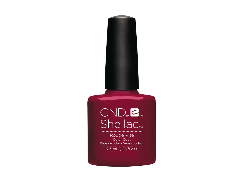 CND SHELLAC™  - UV COLOR  - ROUGE RITE 0.25oz (7,3ml)