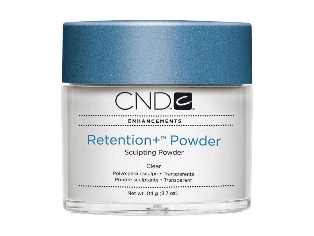 CND RETENTION+Bột đắp móng - Clear 3.7oz (104g), màu trong