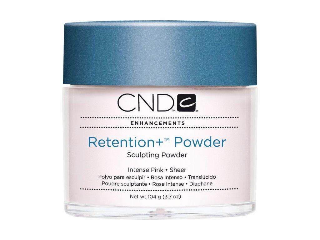 CND RETENTION + Bột đắp móng - INTENSE PINK SHEER 3.7oz (104g), mầu hồng trong