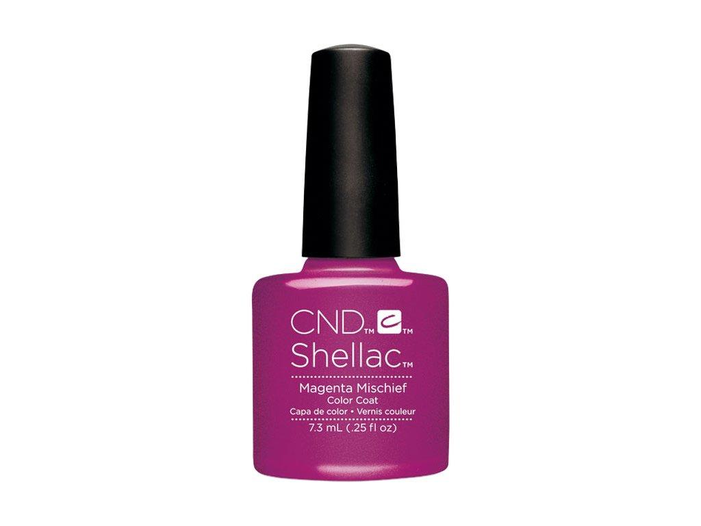 CND SHELLAC™  - UV COLOR  - MAGENTA MISCHIEF 0.25oz (7,3ml)