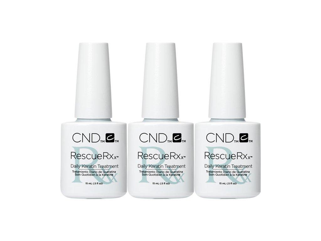CND RESCUERXx™ - Giải cứu cho móng tay bị tỏn thươn, 0.5oz (15ml) gói 3c