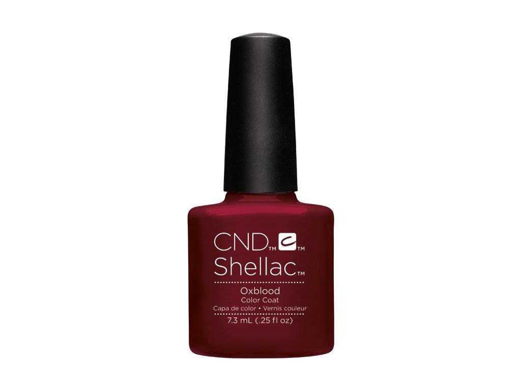 CND SHELLAC™  - UV COLOR  - OXBLOOD 0.25oz (7,3ml)