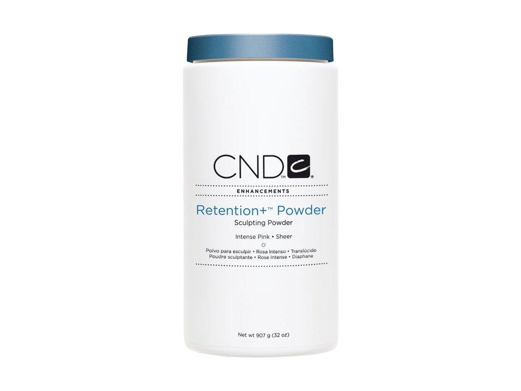 CND RETENTION+, Bột đắp móng - INTENSE PINK SHEER  -  máu hông trong, 32oz (907g), Trong