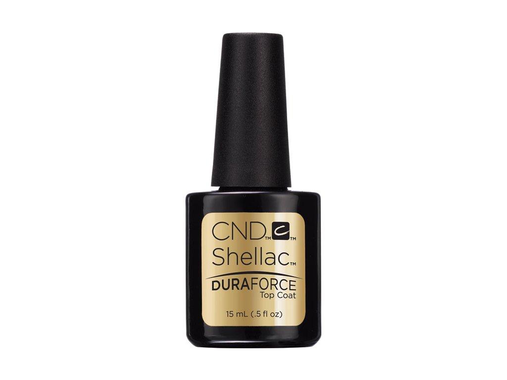 CND CND™ SHELLAC™ - DURAFORCE™ TOP COAT - Sơn phủ làm săn chắc 0.5oz (15ml) dành cho móng tay yếu và dễ gẫy