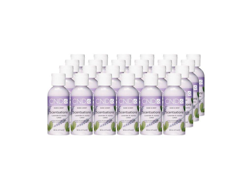 CND SCENTSATIONS™ LAVENDER&JOJOBA  sữa bôi da oải hương và jojoba,24x2oz (59ml)- gói . 24c - đặt hàng thuận tiện