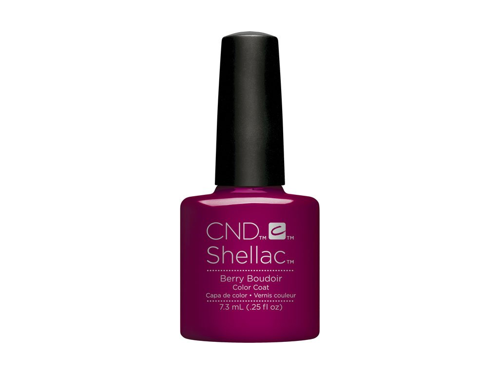 CND SHELLAC™  - UV COLOR  - BERRY BOUDOIR 0.25oz (7,3ml)