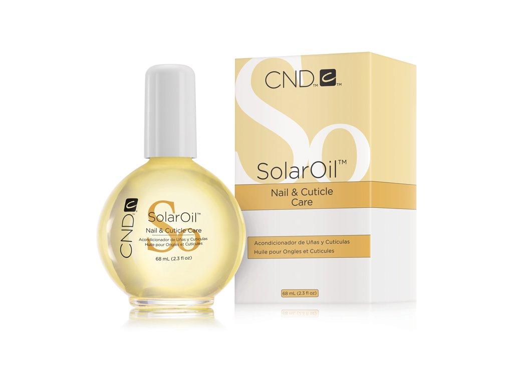 CND SOLAR OIL - dầu tự nhiên có vitamin E 2.3oz (68ml) Đóng gói mới
