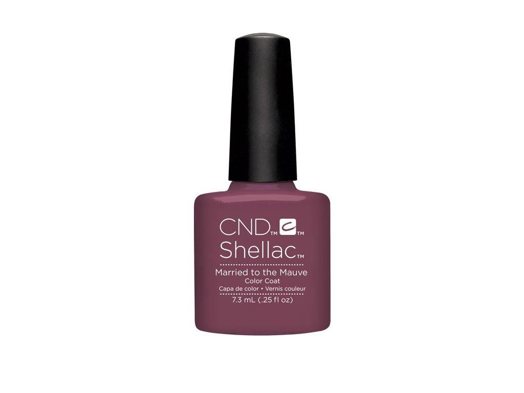 CND SHELLAC™  - UV COLOR  - MARRIED TO MAUVE 0.25oz (7,3ml)