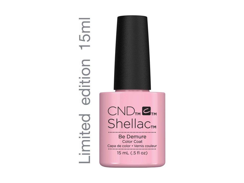 CND SHELLAC™ - UV COLOR - BE DEMURE 0.5oz (15ml) - Phiên bản giới hạn - Mua gói TO với giá của gói NHỎ