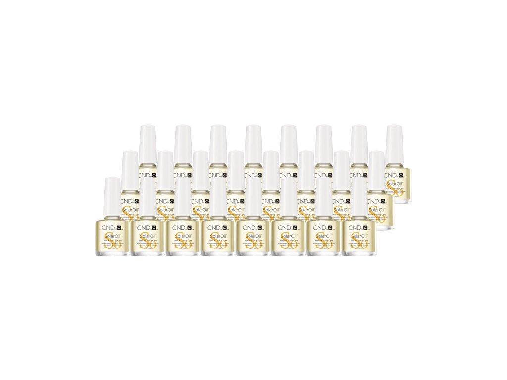 CND SOLAR OIL - dầu tự nhiên có vitamin E - 24 x 0.25oz (7,3ml)-   24 gói - dễ dàng đật hàng