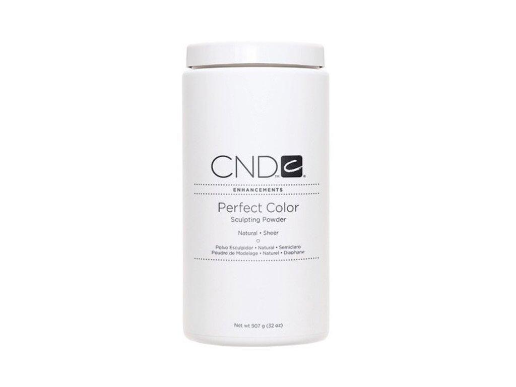 CND PERFECT COLOR, Bột đắp móng - NATURAL SHEER -  Mầu trong tự nhiên , 32oz (907g)