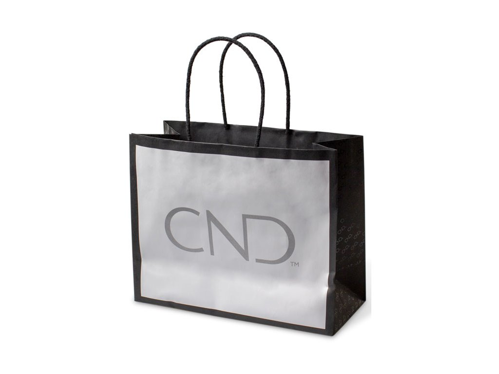 CND CND - Retail Bag S - Túi đen trắng có biệu tượng CND (túi giấy, kt. S) Túi giâý cao cấp với biệu tượng