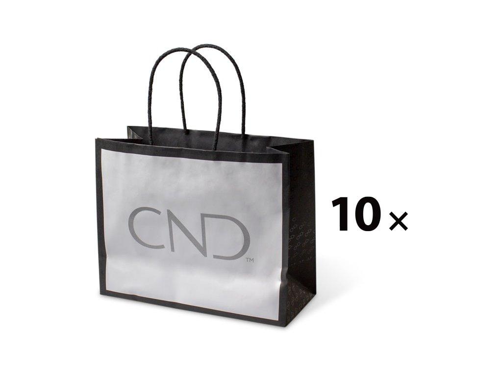 CND Gói 10 c - Túi Premium với biểu tượng CND (kt. 25 x 20 x 11 cm)