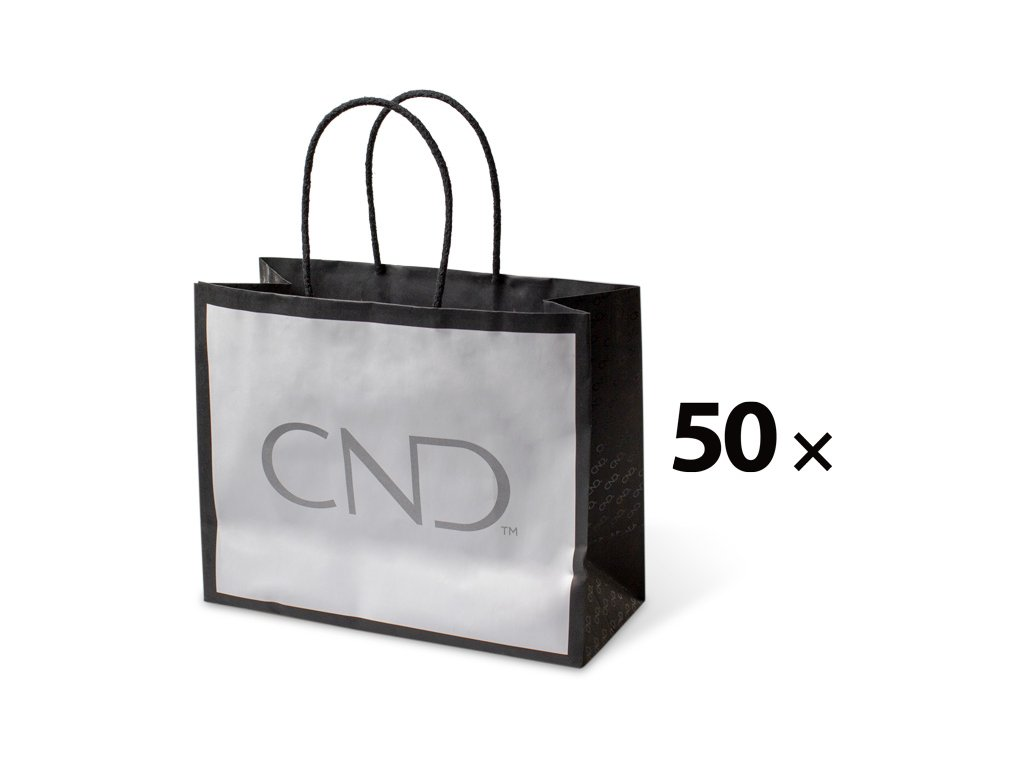 CND Gói 50 c - Túi gấy với biểu tượng CND (kt. 25 x 20 x 11 cm)