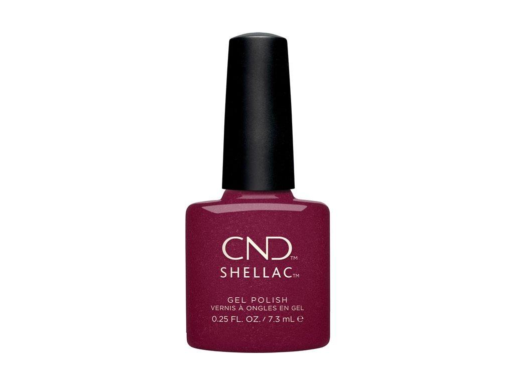 CND SHELLAC™ - UV COLOR - REBELLIOUS RUBY (330) 0.25oz (7,3ml)