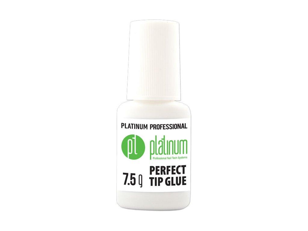 Platinum PLATINUM PROFESSIONAL PERFECT TIP GLUE - hồ trong dán móng tip có chổi cọ, 7,5g